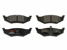 For 2000-2002 Chrysler Neon Brake Pad Set Rear TRW 63255BM 2001 Semi-Metallic