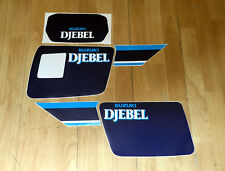 Suzuki DR 600 DJEBEL 1988  Kit Tabelle - adesivi/adhesives/stickers/decal