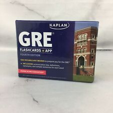 Kaplan Test Prep: GRE® Vocabulary by Kaplan (2014, Flash Cards, 4th Edition)