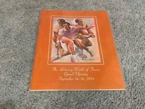 1973 The Lakeaway World of Tennis Grand Opening Tennis Program