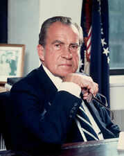 37th US President RICHARD NIXON Glossy 8x10 Photo Poster Political Print