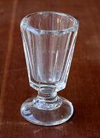 Kutscherglas Schnapsglas, Zimmermann, Wachtmeister um 1900, Nr. 2