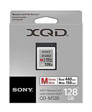 Sony 128GB serie m hasta 440mb/s lectura & 150mb / segundos escribe Xqd