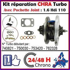 24H00 CHRA TURBO 1.6 HDi 110 CITROEN GT1544V 740821-1 762328-1 762328-2
