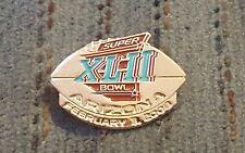 Awesome Super Bowl Xlii 32 Arizona 2008 commemorative collector football Pin
