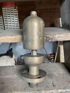 Antique Brass Steam Whistle