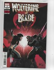 WOLVERINE VS. BLADE #1 VARIANT  MARVEL KEY rare comic pj22
