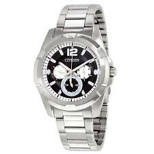 Citizen Multi-Function Black Dial Mens Watch AG8330-51E
