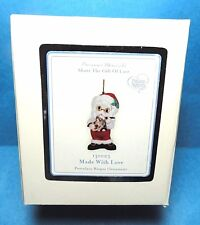 "Precious Moments  ""Made With Love"" Santa Ornament Dated 2012 No.131023"