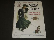 1905 NOVEMBER NEW IDEA WOMAN'S MAGAZINE - COLOR FASHION - ILLUSTRATIONS - ST 248
