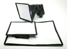 Fotodiox $ Altura 3 Different Sizes Soft Boxes F/Any Separate Flash On Camera.