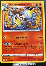 Carte Pokemon DARUMACHO 028/189 Rare Epée et Bouclier 3 EB03 FR NEUF