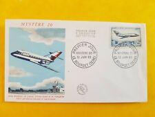 FDC Enveloppe France n° 543 TP av.42 - 12 06 1965 Le mystère 20