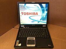 Toshiba Tecra M2 Laptop Notebook Pentium M 1.5 GHz 512MB Ram 80GB HDD windows XP