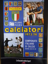 ALBUM PANINI Calciatori Ristampa GAZZETTA anno 1973-74 [GS43]