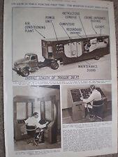 Photo article aeronautics the Redifon mobile flight simulator 1954 ref X3