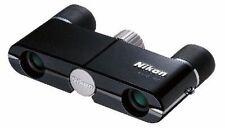 Nikon Binoculars Elegant Compact 4x10 DCF Roof Prism Ebony Black from Japan