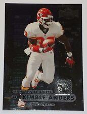 1998 Fleer Metal Universe Kimble Anders #22 - Kansas City Chiefs