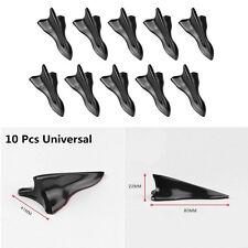 Universal 10 Vortex Generator Shark Fin Wing Jet Style Car Roof Spoiler Diffuser