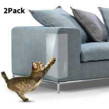 2Pcs Pet Cat Scratch Deterrent Guard Pad Mat Protect Upholstered Sofa Furniture