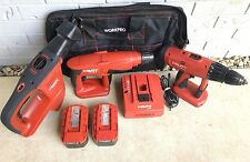 HILTI TE 2-A/WSR-650/UH 240 24V Kit Hammer Drill/Saw SDS-Plus
