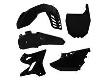 YAMAHA YZ 125 250 15-16 PLASTIKIT KIT PLASTIK KUNSTOFFTEILE AIRBOX SCHWARZ BLACK