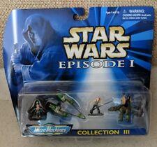 Star Wars Episode I MicroMachines Collection III Gasgano/Pod Racer/Fambaa/JarJar
