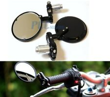 """7/8"""" HANDLEBAR CNC Bar End Mirror 3"""" FOR MOTORCYCLE SCOOTER MOPED I MI04"""