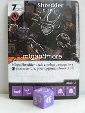 Dice Masters - #041 Shredder Old Rival - Teenage Mutant Ninja Turtles