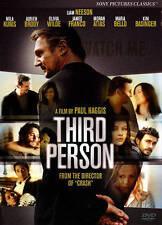 Third Person DVD, 2014,  Liam Neeson, Mila Kunis, James Franco, Sealed