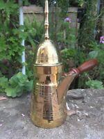 Finjan Coffee Tea Pot Arabic Copper Dallah Pot