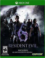 Resident Evil 6 (Microsoft Xbox One, 2016)