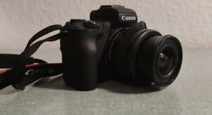 Canon EOS M50 24.1MP DSLR-Kamera mit  EF-M 15-45mm f/3.5-6.3 IS STM Objektiv...