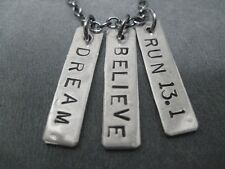 DREAM BELIEVE RUN 13.1~18 inch~HALF MARATHON JEWELRY