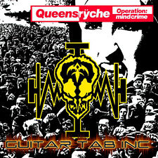 Queensryche Digital Guitar Tab OPERATION: MINDCRIME Lessons Disc DeGarmo Wilton