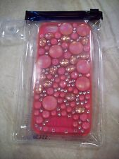 NEW Victoria's Secret PINK Bling Studded Stones Rhinestones iPhone 5 Case Cover