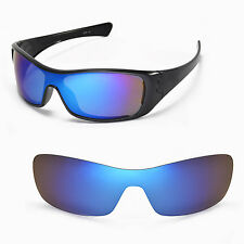 New Walleva Polarized Ice Blue Replacement Lenses For Oakley Antix Sunglasses