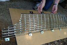 1961 Thunderbird 2 pc. Aluminum Grill  *ORIGINAL TRIPLE PLATED