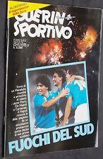 GUERIN SPORTIVO=N°35 1986=MAXIPOSTER CM 80X54 JUVENTUS