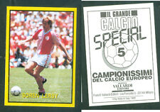 Soren Lerby (Denmark) Rare Italian Issue 1988 Football! New! Grande Calcio n.5