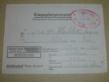 2WW P.O.W. Kriegsgefangenenpost Letter from STALAG VI D in Dortmund GERMANY 1943