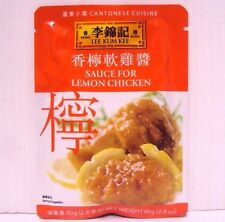 Pack 5 Lee Kum Kee Sauce For Lemon Chicken Chinese Food Cantonese Cuisine 2.8oz