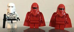 LEGO STAR WARS IMPERIAL GUARD SNOW STORM TROOPER 3 PIECE MINI FIGURE DISNEY (A)
