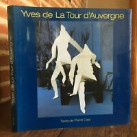 Autografiado Yves de La Talla de Auvergne Piedra Daix De Benteli Berna 2000