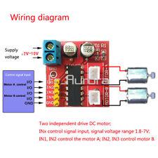 2.5A Mini Dual Channel DC Motor Driver Module Beyond L298N PWM Speed Control Kit