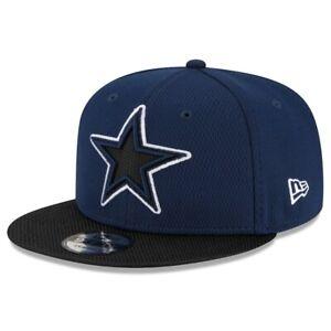 2021 Dallas Cowboys New Era 9FIFTY NFL Snapback Road Sideline On Field Hat Cap