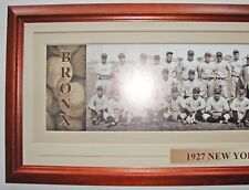 VINTAGE BROOKLYN BASEBALL CLUB 1914 PANORAMIC PRINT 11.75 X 36 W/DOUBLE FAUX MAT