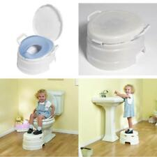 Baby Potty Training Seat Toilet Chair Toddler Kids Train High back Support Guard