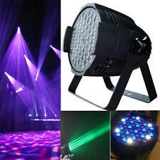 54x3w LED STAGE LIGHT RGBW PAR64 162W DMX512 DISCO XMAS CLUB PARTY SHOW