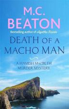 M C BEATON ___ DEATH OF A MACHO MAN __ BRAND NEW __ FREEPOST UK